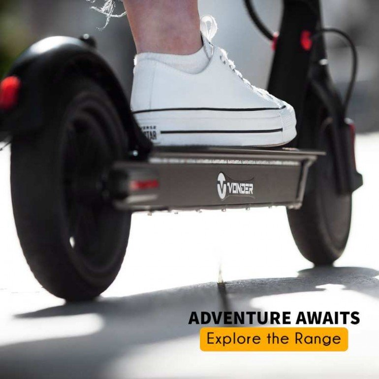 Powerful e-scooters